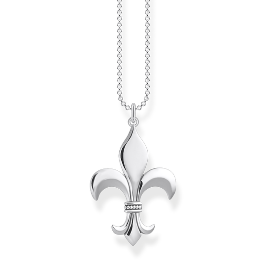 Necklace fleur-de-lis from the Rebel at heart collection in the THOMAS SABO online store