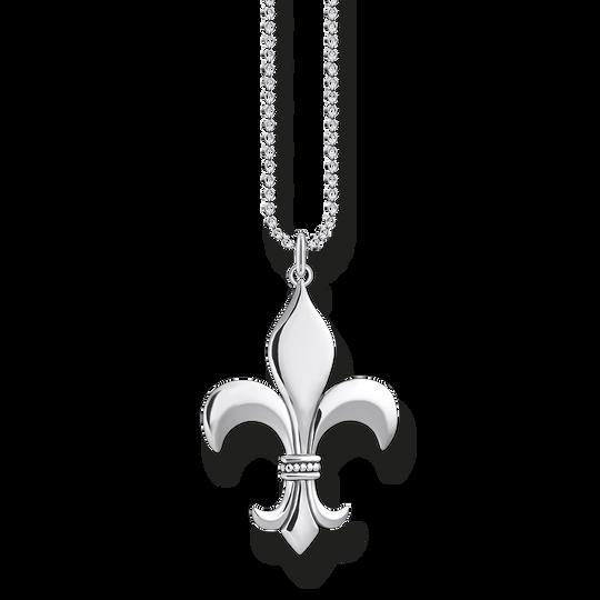 Chaîne fleur de lys de la collection Rebel at heart dans la boutique en ligne de THOMAS SABO