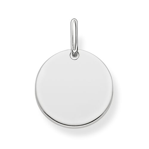"Charm pendant ""disc"" from the  collection in the THOMAS SABO online store"
