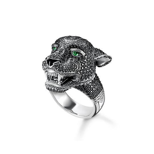 Ring Black Cat ur kollektionen  i THOMAS SABO:s onlineshop