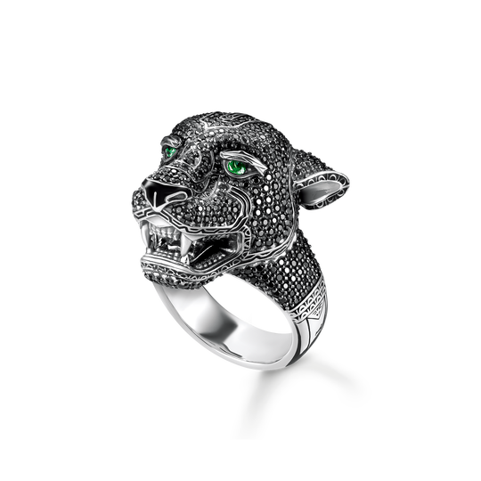 bague Black Cat de la collection Rebel at heart dans la boutique en ligne de THOMAS SABO