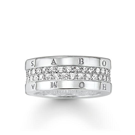 anillo eternity Classic blanco de la colección Glam & Soul en la tienda online de THOMAS SABO