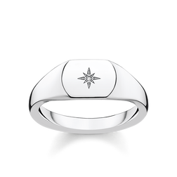 "ring ""Vintage Star silver"" from the Glam & Soul collection in the THOMAS SABO online store"