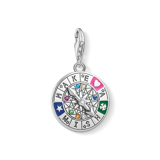 Charm pendant Wheel of Fortune - Make a Wish from the Charm Club collection in the THOMAS SABO online store