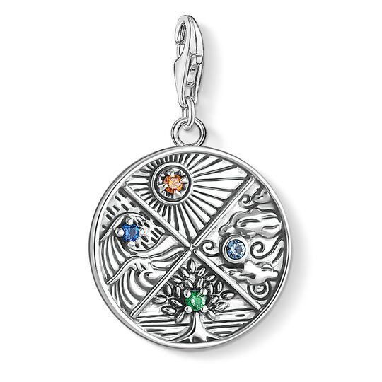 Charm pendant 4 elements: earth, water, air, fire from the Glam & Soul collection in the THOMAS SABO online store