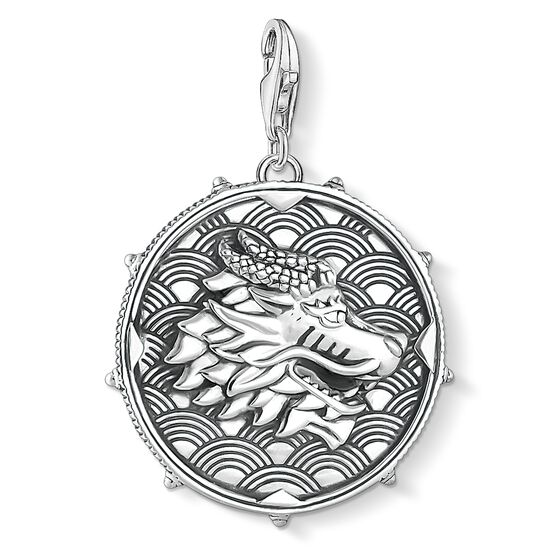 """Charm pendant """"disc dragon & tiger"""" from the  collection in the THOMAS SABO online store"""