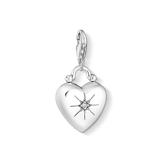 Charm pendant heart locket from the Charm Club collection in the THOMAS SABO online store
