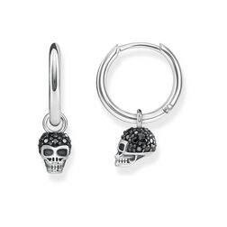 "hoop earrings ""skull"" from the Glam & Soul collection in the THOMAS SABO online store"