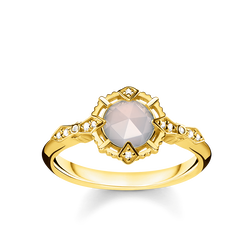 "ring ""Vintage white"" from the Glam & Soul collection in the THOMAS SABO online store"