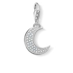 "Charm pendant ""moon"" from the Charm Club Collection collection in the THOMAS SABO online store"