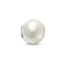 "Bead ""white pearl"" from the Karma Beads collection in the THOMAS SABO online store"