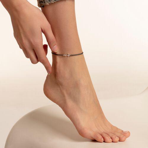 """pulsera para tobillo """"Little Secret ancla"""" de la colección Glam & Soul en la tienda online de THOMAS SABO"""