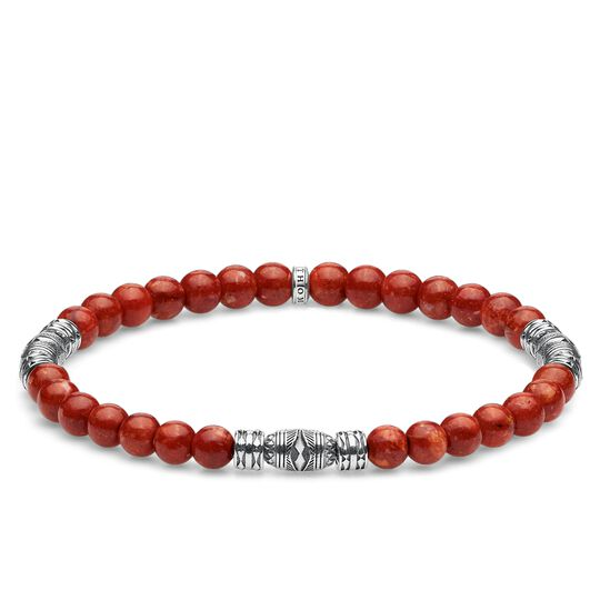bracelet Lucky charm, red from the Glam & Soul collection in the THOMAS SABO online store