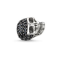 Bead tête de mort avec pavé, grande de la collection Karma Beads dans la boutique en ligne de THOMAS SABO