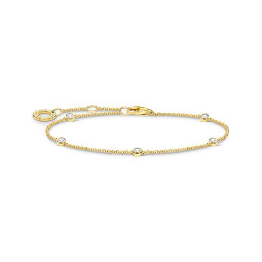 Armband vit stenar guld ur kollektionen Charming Collection i THOMAS SABO:s onlineshop