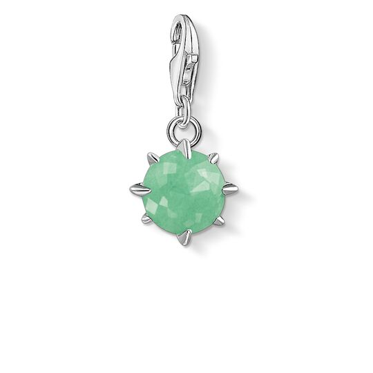 Charm pendant birth stone May from the Glam & Soul collection in the THOMAS SABO online store