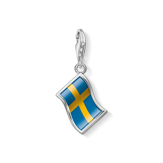 Charm pendant flag Sweden from the Charm Club collection in the THOMAS SABO online store