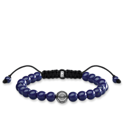 bracelet ethnic blue from the Rebel at heart collection in the THOMAS SABO online store