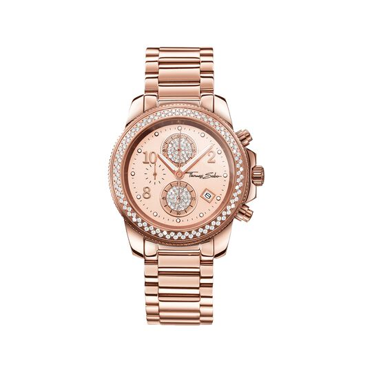 Women's Watch GLAM CHRONO from the  collection in the THOMAS SABO online store
