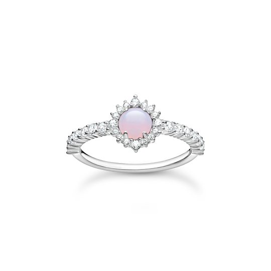 Ring Opal-Imitation rosa schimmernd aus der Charming Collection Kollektion im Online Shop von THOMAS SABO