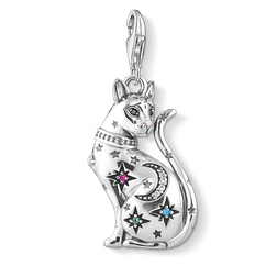 charm pendant cat constellation silver from the Charm Club Collection collection in the THOMAS SABO online store