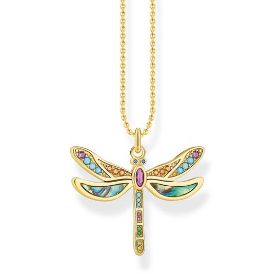 necklace dragonfly gold from the Glam & Soul collection in the THOMAS SABO online store