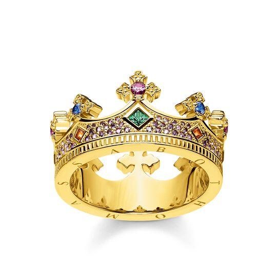 Ring Krone Gold aus der Glam & Soul Kollektion im Online Shop von THOMAS SABO