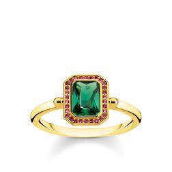 Ring Steine Rot & Grün gold aus der Glam & Soul Kollektion im Online Shop von THOMAS SABO