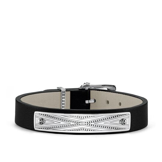 Lederarmband aus der Rebel at heart Kollektion im Online Shop von THOMAS SABO