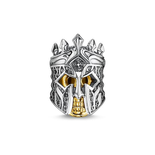 Bead skull knight from the Rebel at heart collection in the THOMAS SABO online store