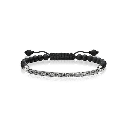 bracelet black love knot from the  collection in the THOMAS SABO online store