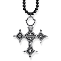 "necklace ""Ethnic cross"" from the Rebel at heart collection in the THOMAS SABO online store"
