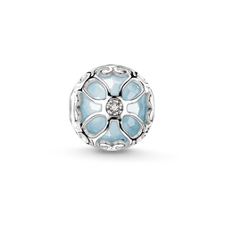 """Bead """"light-blue lotus flower"""" from the Karma Beads collection in the THOMAS SABO online store"""