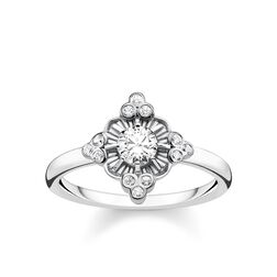 ring Royalty white from the Glam & Soul collection in the THOMAS SABO online store
