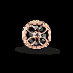 """Bead """"fleur de lotus noire"""" de la collection Karma Beads dans la boutique en ligne de THOMAS SABO"""