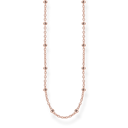 round belcher chain rose gold from the Glam & Soul collection in the THOMAS SABO online store
