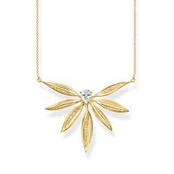 necklace leaves large gold from the Glam & Soul collection in the THOMAS SABO online store