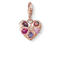 Charm pendant 'Royal heart' from the Glam & Soul collection in the THOMAS SABO online store