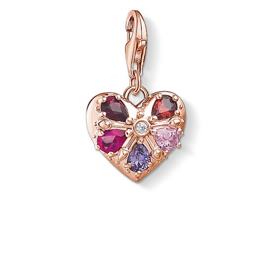 "Charm pendant ""heart"" from the Glam & Soul collection in the THOMAS SABO online store"