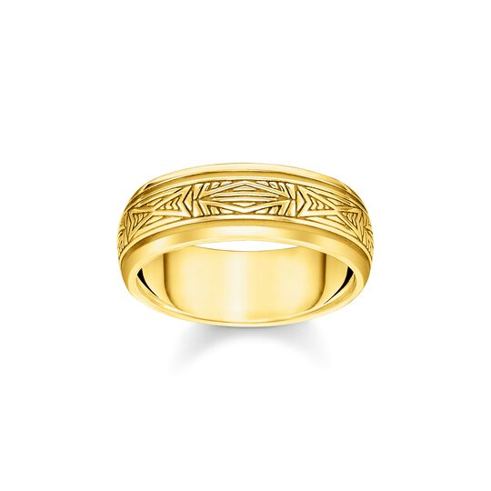 ring Ornaments, gold from the  collection in the THOMAS SABO online store