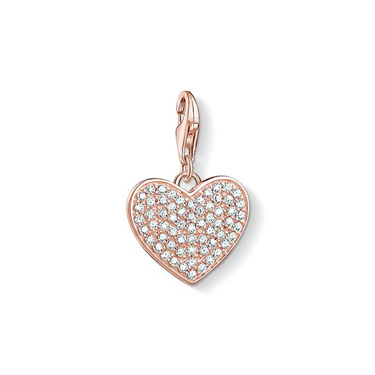 Charm pendant heart pavé from the Charm Club collection in the THOMAS SABO online store