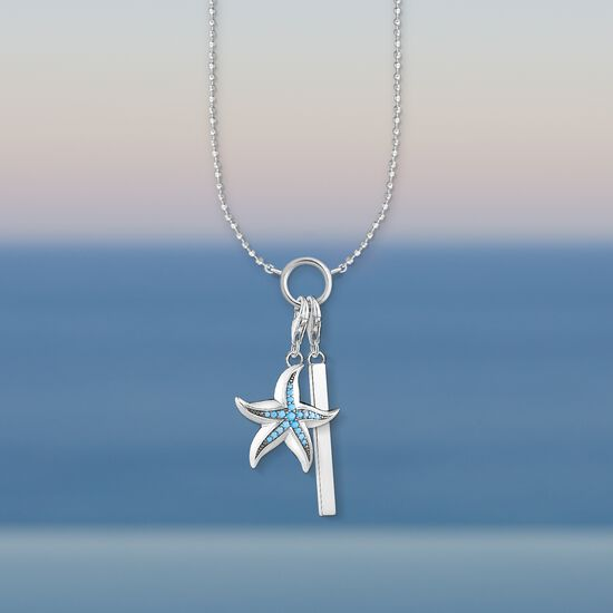 Charm pendant starfish 1527 charm club thomas sabo usa jewellery set from the collection in the thomas sabo online store charm pendant aloadofball Gallery