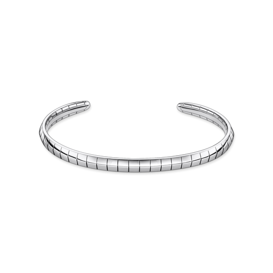 Bangle snakeskin silver from the Glam & Soul collection in the THOMAS SABO online store