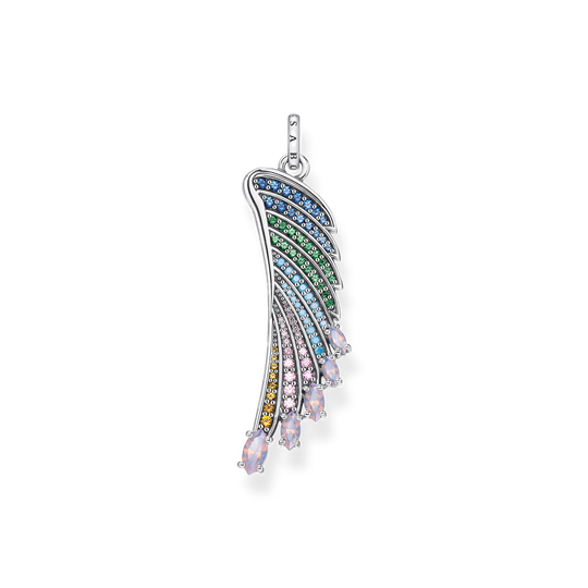 pendant bright silver-coloured hummingbird wing from the Glam & Soul collection in the THOMAS SABO online store