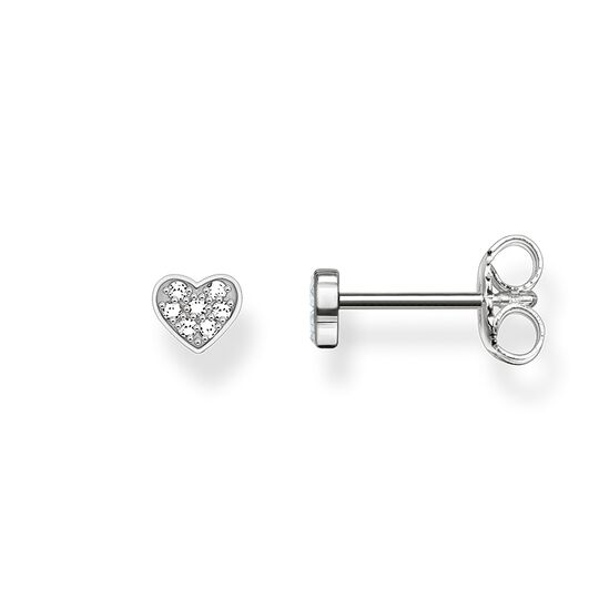 ear studs heart pavé from the Glam & Soul collection in the THOMAS SABO online store