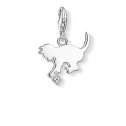 "Charm pendant ""kitten"" from the  collection in the THOMAS SABO online store"