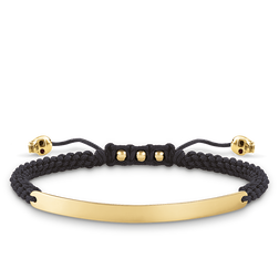 "bracelet ""black skull"" from the Love Bridge collection in the THOMAS SABO online store"