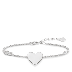 "bracelet ""heart with infinity"" from the Glam & Soul collection in the THOMAS SABO online store"
