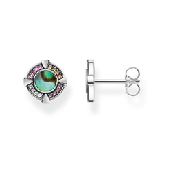 """ear studs """"abalone mother-of-pearl"""" from the Glam & Soul collection in the THOMAS SABO online store"""