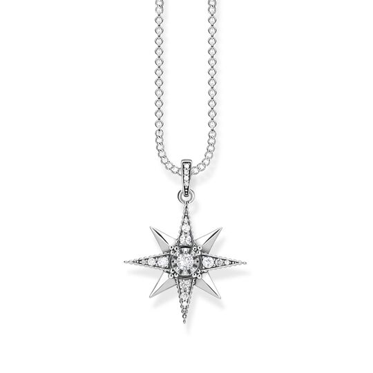 necklace Royalty Star white from the  collection in the THOMAS SABO online store